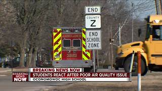 OHS Students React After Poor Air Quality Issue - Video