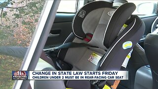 New car seat law takes effect Friday