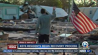 Recovery begins in the Florida Keys after Irma - Video