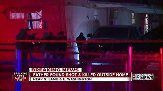 Man shot, killed while working on truck outside his home - Video