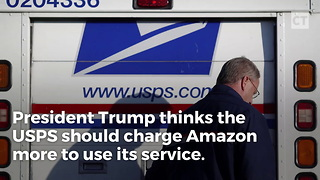 Trump Has Idea for USPS - Video