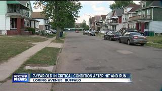 POLICE: 7-year-old hit by car, driver took off - Video