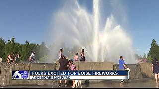 Boise celebrates Fourth of July at Ann Morrison Park - Video