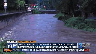 Heavy rain and flooding hurting local businesses - Video