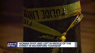 Woman shot & killed in Waterford Township