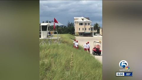 Young child bitten by shark at Bathtub Beach in Martin County