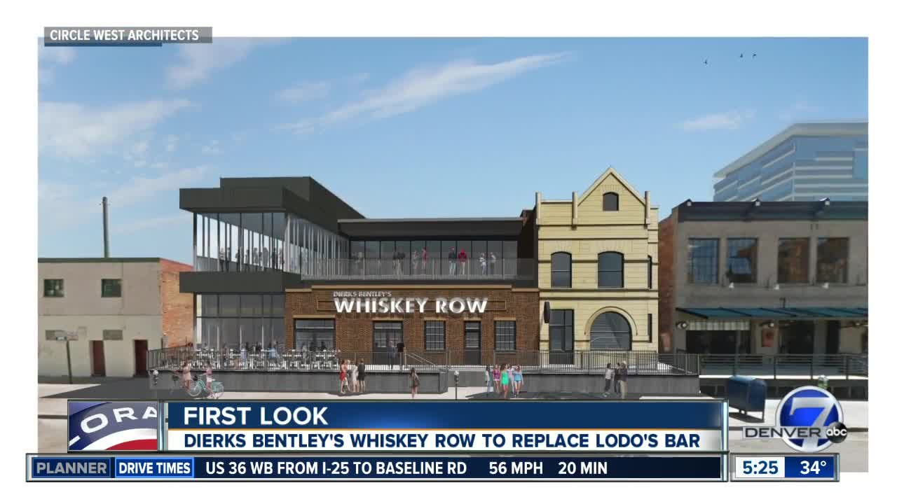 Dierks Bentley's Whisky Row coming to Denver