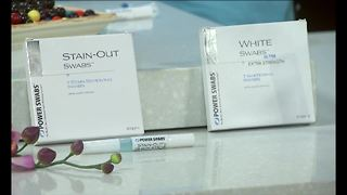 Power Swabs Teeth Whitening - Video