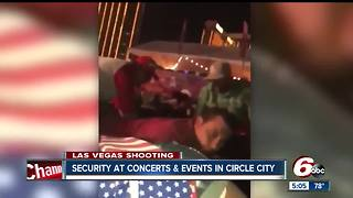 Security concerns at sports and concert venues following Las Vegas shooting; statement released about safety at Garth Brooks concerts in Indy this weekend - Video
