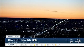 Daylight Saving Time blamed for heart problems