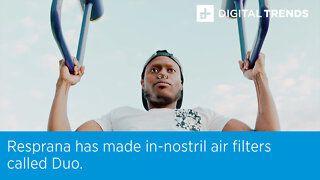 Resprana has made in-nostril air filters called Duo.