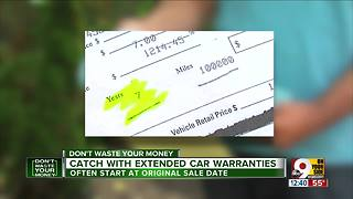 Catch with extended car warranties - Video