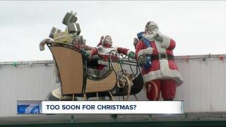 Too soon for Christmas? - Video