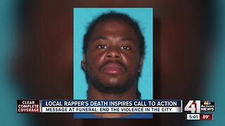 Local rapper's death inspires call to action