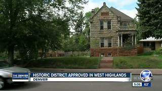 Denver City Council approves historic district in West Highlands - Video