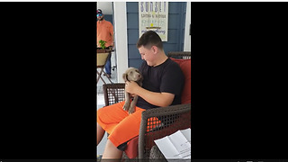 Boy Finally Receives The Puppy He Always Wanted
