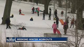 Weekend winter workouts - Video