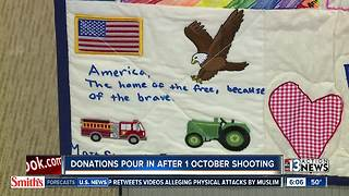 Donations after mass shooting to be displayed - Video