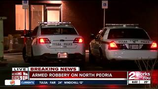 McDonalds robbed on North Peoria - Video