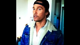 Matthew McConaughey Is Right On About Values