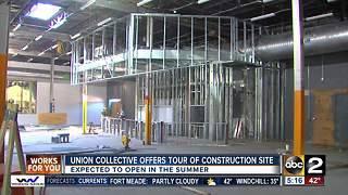 Union collective offers tour of construction site