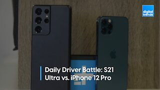 Samsung Galaxy 21 Ultra vs iPhone 12 Pro