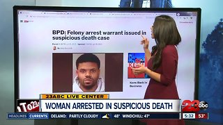 BPD: Felony arrest warrant issued in suspicious death case