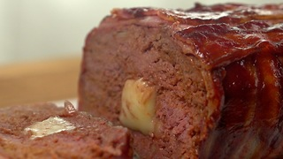 BBQ Stuffed Meatloaf - Video