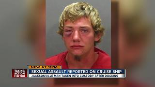 Florida man charged with sexually assaulting woman on Carnival Cruise ship - Video