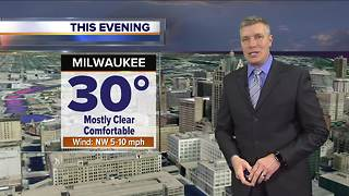 Warmer temperatures continue through Thursday - Video