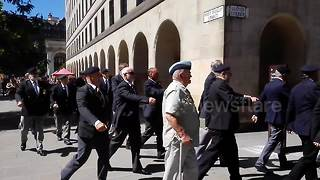 Armed Forces Day parade in glorious Manchester weather - Video
