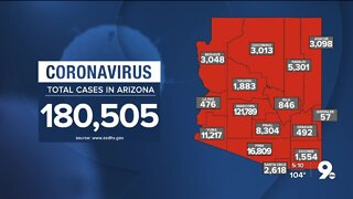 1,030 newly reported cases of COVID-19 in Arizona