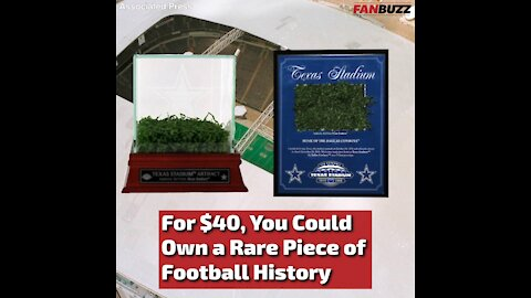 You Could Own a Rare Piece of Cowboys Turf for $40