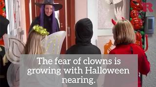 Why you shouldn't dress up as a clown this Halloween | Rare News - Video
