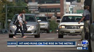 Denver area sees alarming increase in reported hit-and-run crashes in 2017 - Video