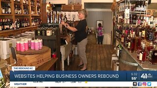 Websites helping business owners rebound