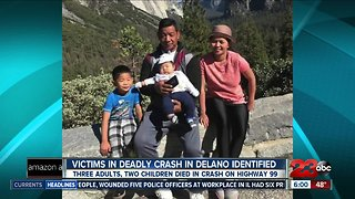 Parents and two young children among five killed in Highway 99 crash