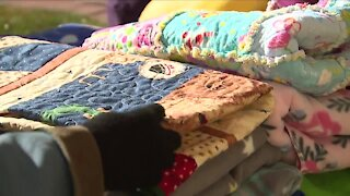 The Comfort Clan: Johnstown club cranks out dozens of quilts for Colorado wildfire victims