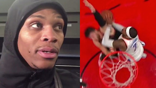 "Russell Westbrook Calls ""BULLSH*T"" on Carmelo Anthony's Flagrant 2 Ejection - Video"