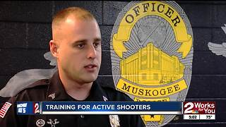 Police in Muskogee offering several active shooter training courses - Video