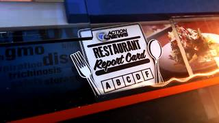 We're checking out the Restaurant Report Card for Sterling Heights - Video