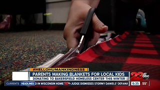 Hello humankindness: Locals make blankets for children in need
