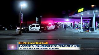 Buffalo police investigating late night shooting near ECMC - Video