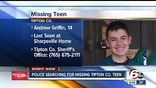 MISSING: Tipton police searching for 14-year-old from Sharpsville - Video