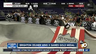 Brighton Zeuner wins X Games gold medal - Video