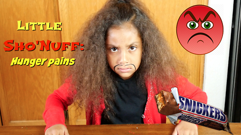 Sho'Nuff the Last Dragon : Hunger Pains! -Snickers parody