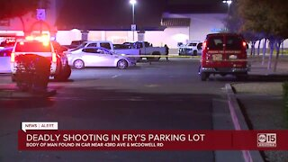 PD: Man found shot to death in Fry's parking lot near 43rd Avenue and McDowell Road