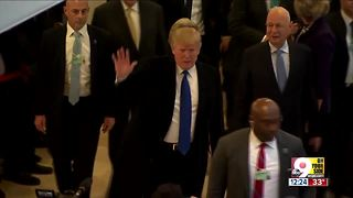 President Trump in Switzerland - Video