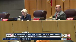 Cape Coral council discussing City Manager recruitment firms