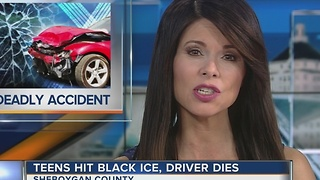 Black ice blamed for fatal Sheboygan County accident - Video